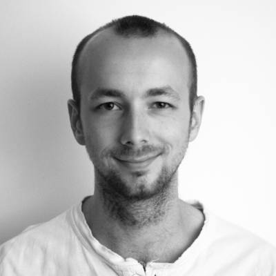 Tim Murray-Browne, artist and creative coder, co-creator of Movement Alphabet