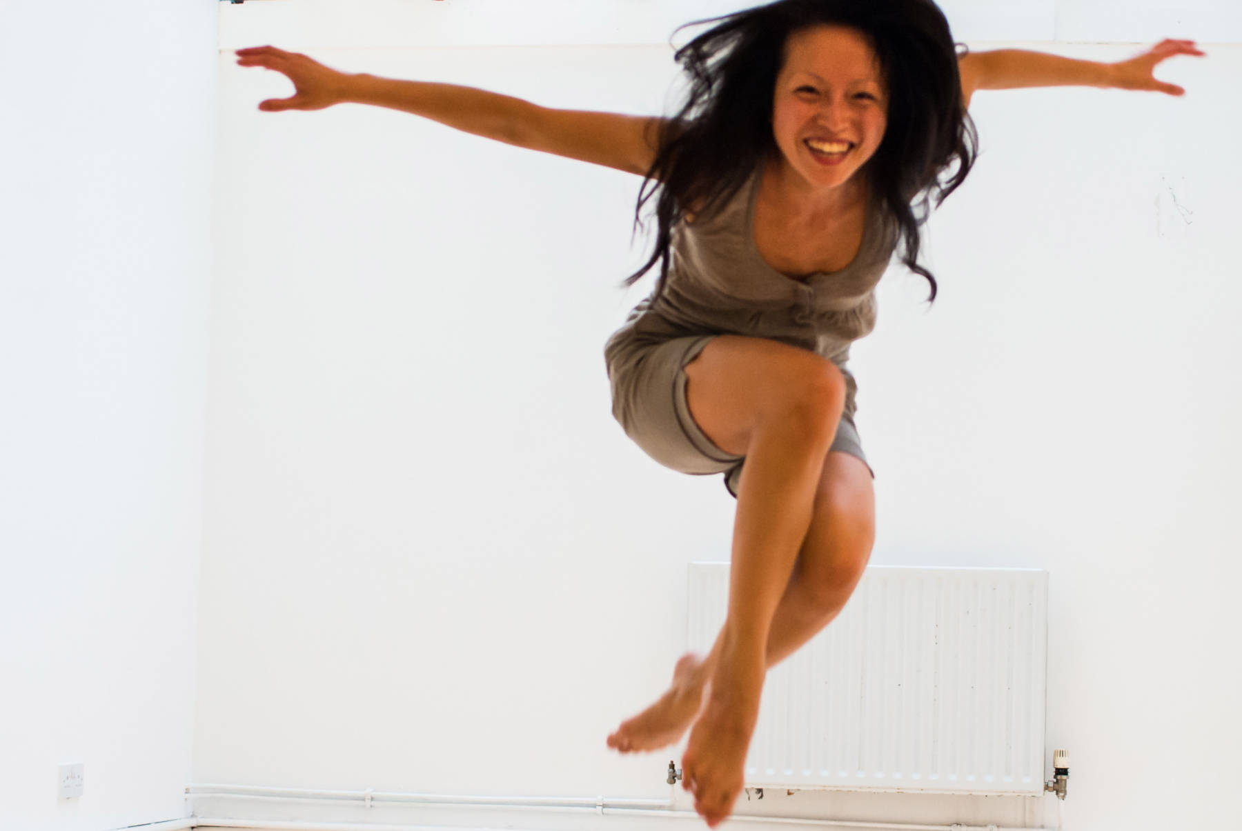 Jan Lee, dance artist and improviser, co-creator of Movement Alphabet